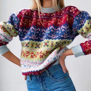 Vintage Knit Crew Neck